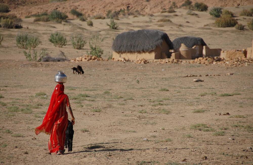 Почему женщины в Индии отказываются от воды даже в жару
