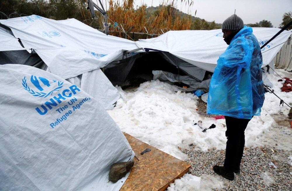 Kuhu kadus 754 miljonit eurot? Selline nägi jaanuaris välja Moria põgenikelaager, kus tänavu suri kolm inimest.