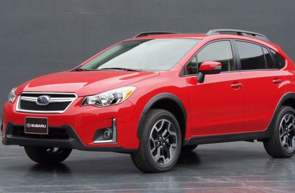 Subaru punane erimudel