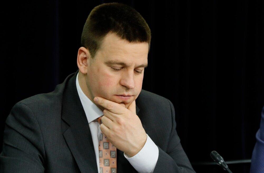 Jüri Ratase valitsus loobus hinnangust