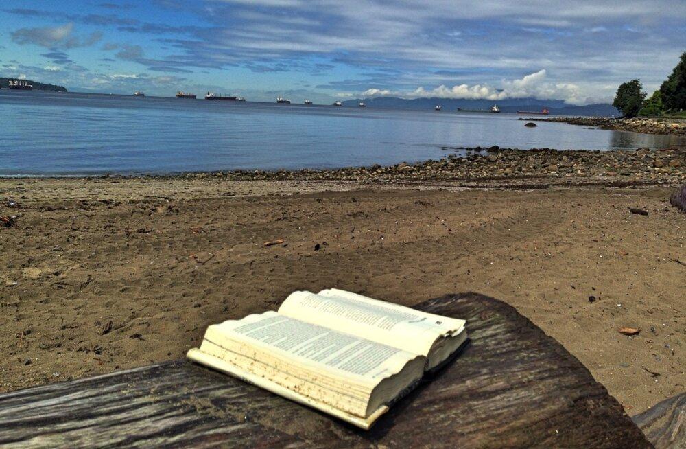 Lugejad kipuvad raamatukogu raamatuid reisidel käies maha unustama