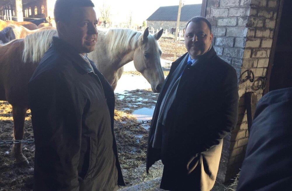 Ministrid Tori hobusekasvatuses