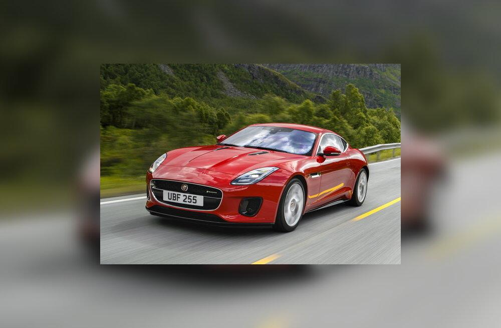 Jaguari uuendatud F-Type: ainult häid uudiseid