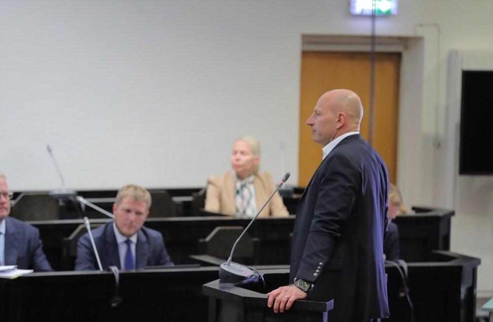 Paavo Pettai jäi eile kohtus rahulikuks ning tema arvates on kõik tema tehtud sammud olnud seadusega kooskõlas.