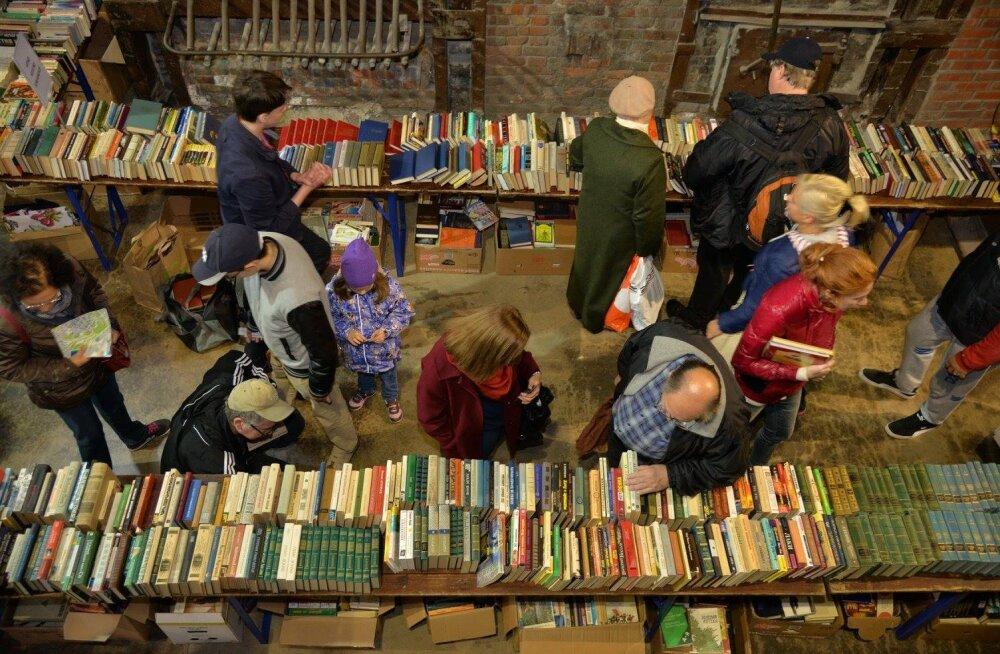 В Таллинне снова состоится бесплатная книжная ярмарка
