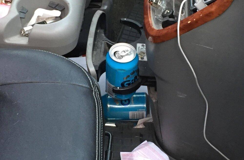 ФОТО: В районе Теллискиви мертвецки пьяный водитель спровоцировал аварию