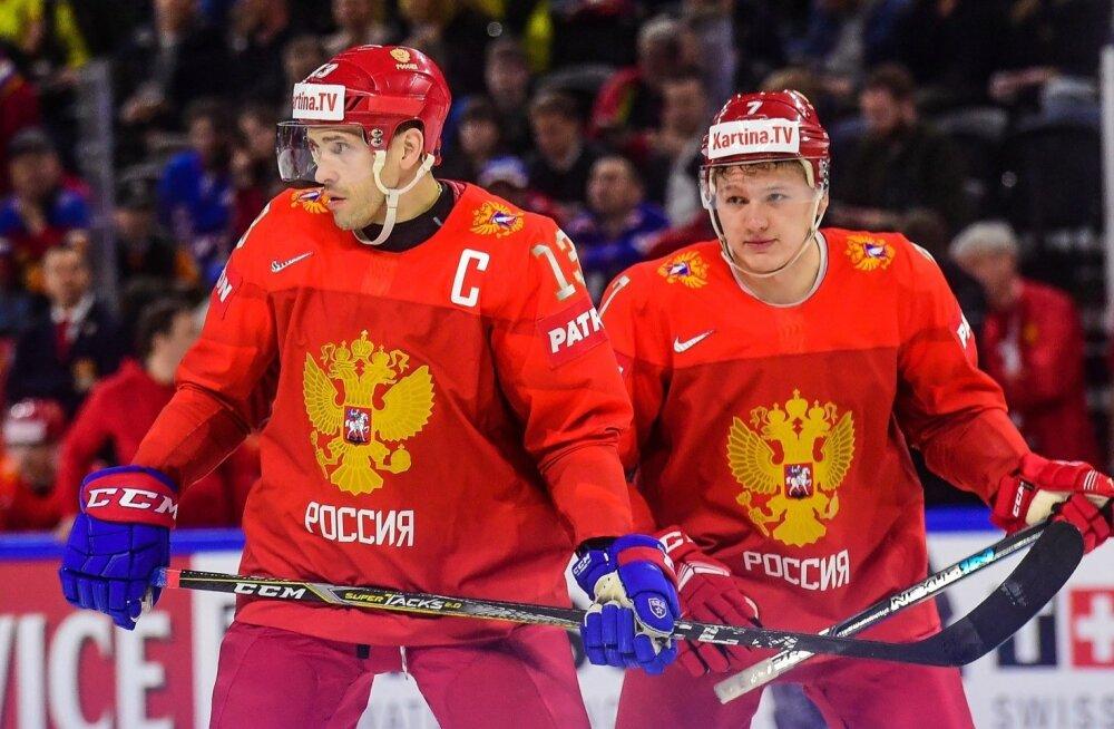 Pavel Datsjuk ja Kirill Kaprizov
