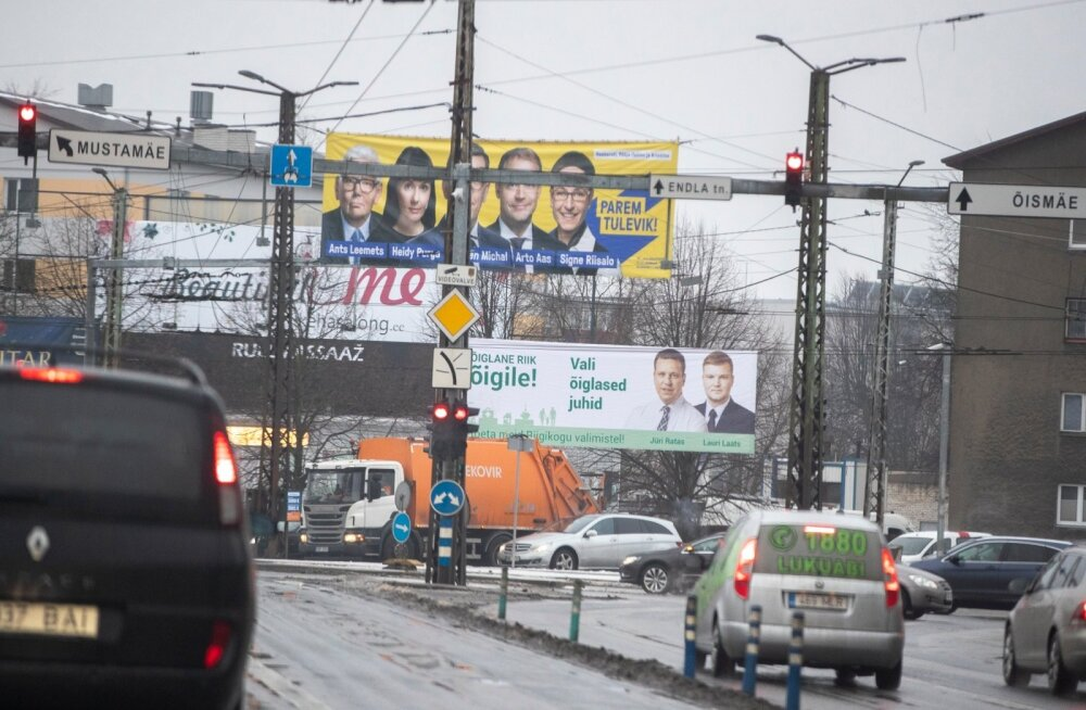 Valimiskampaania jaanuar 2019