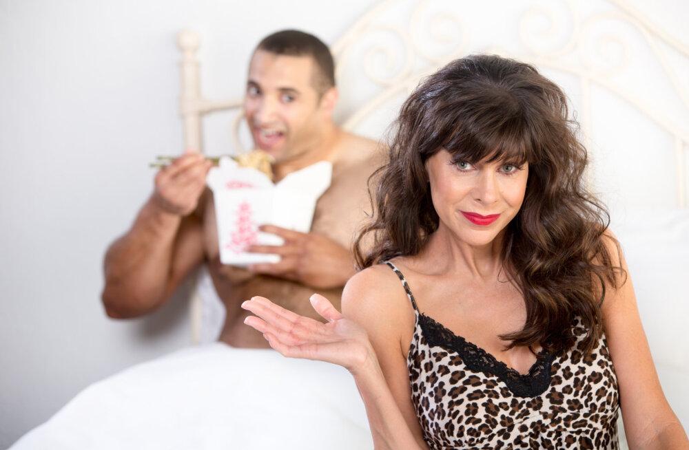 Жесты мужчины готового к сексу