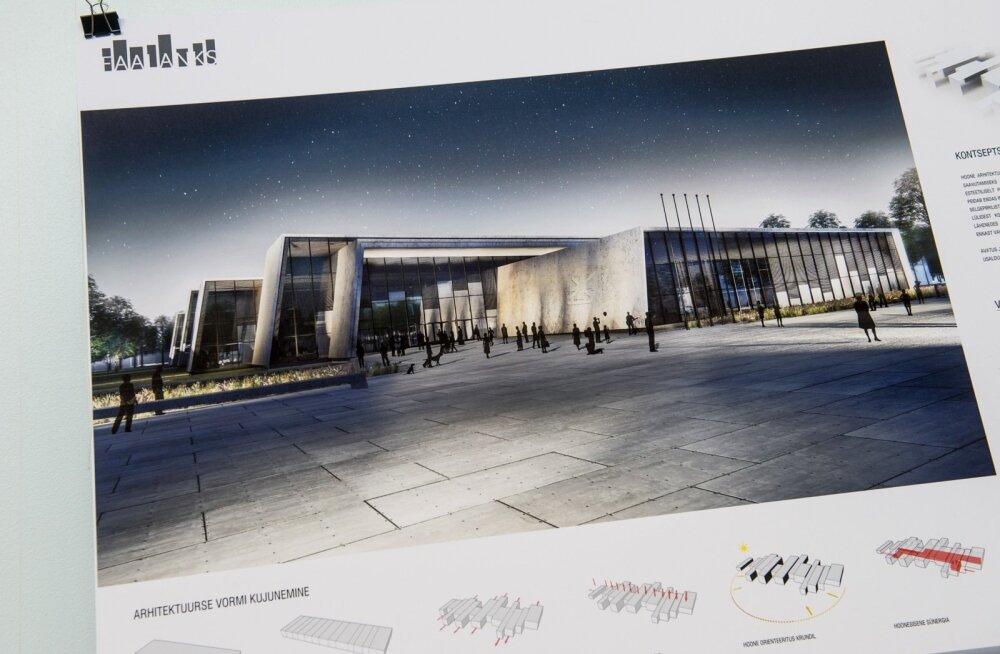 Sisekaitseakadeemia uue hoone võidutöö väljakuulutamine