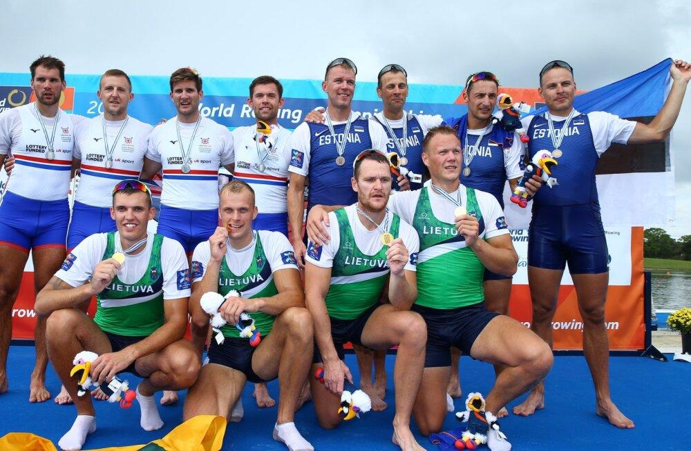 Eesti neljapaat tõusis võimsa lõpuga MM-il medalile!
