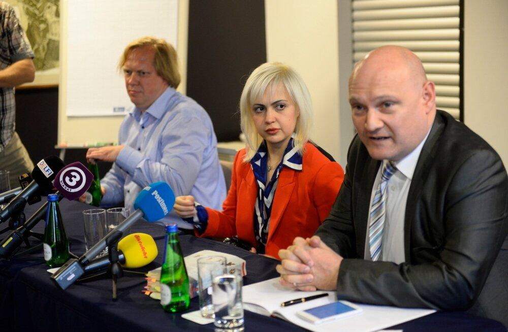 VIDEO JA FOTOD: Anna-Maria Galojan pressikonverentsil: minu vabastamispäev oli kiusliku režiimi lõpu algus