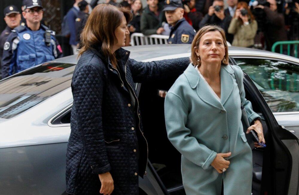 Hispaania kohus lükkas Kataloonia parlamendi juhatuse küsitlemise edasi