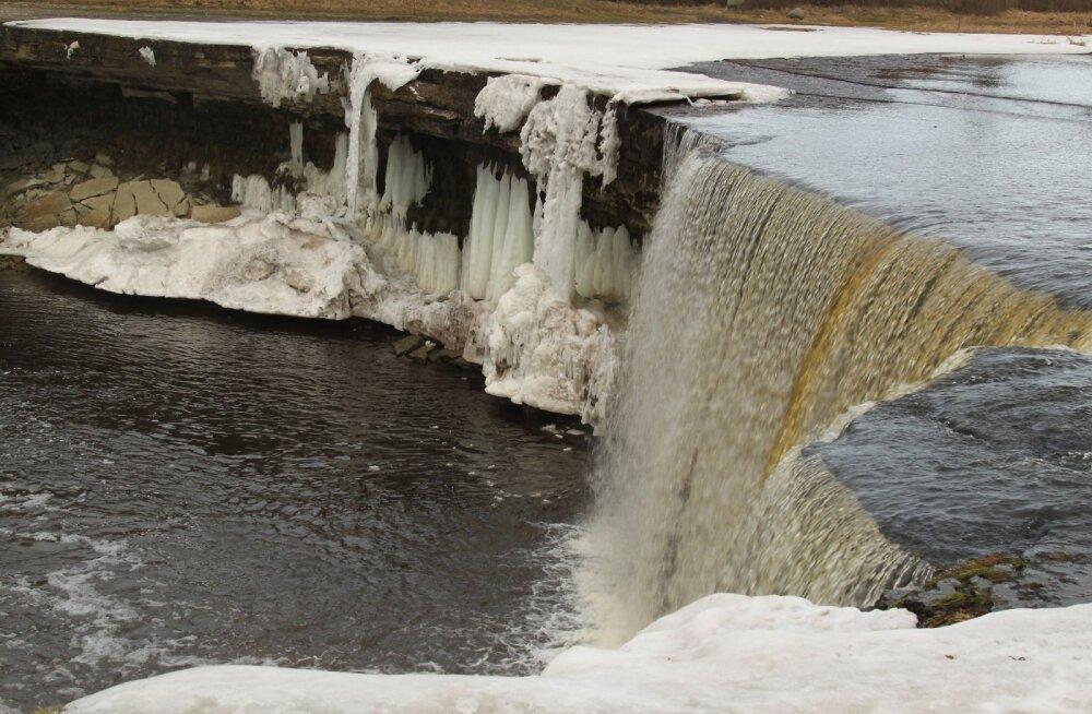 ФОТО читателя Delfi: Красота весеннего водопада Ягала