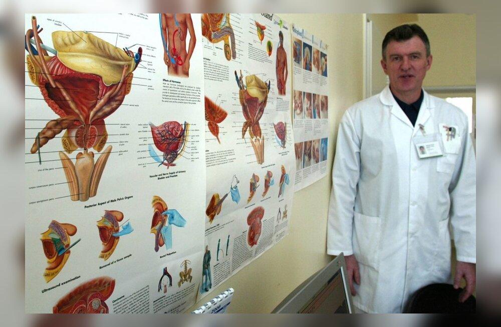 Uroloog Toomas Tamm: Eestis põeb eesnäärmevähki ligi 10 000 meest ja vaja oleks patsientide organisatsiooni