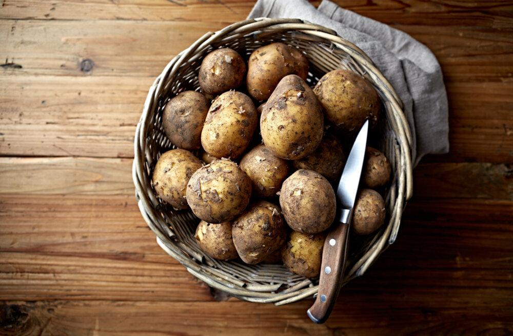 NUTIKAS LAHENDUS   Kuidas köögis sibulaid ja kartuleid hoida
