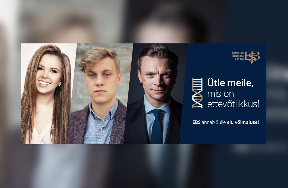 Estonian Business School otsib koos noortega ettevõtlikkuse DNA-d