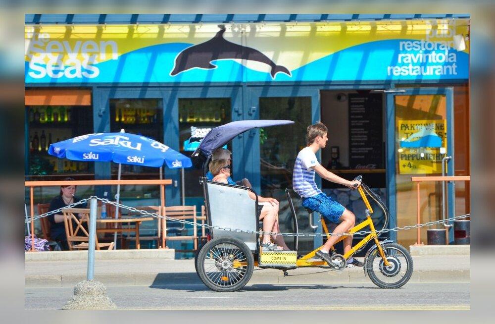 Takso ei pea olema auto: Taxify paneb Ida-Aafrika tänavatele miljonite eurode eest rikšad veerema