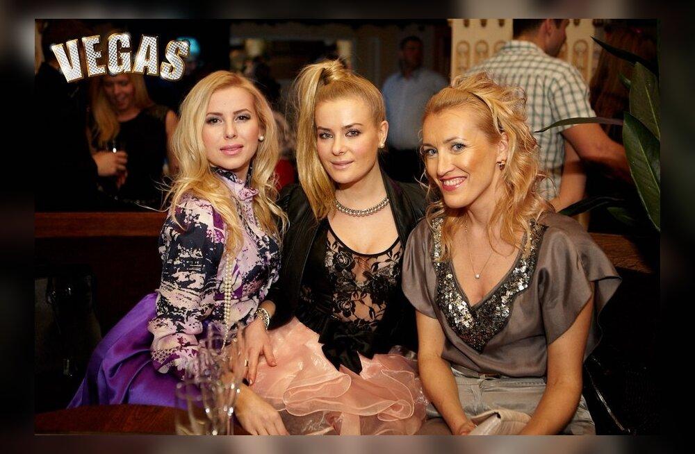 """""""Vegase"""" peol pidutseti glamuurse show ning õnnemängudega!"""