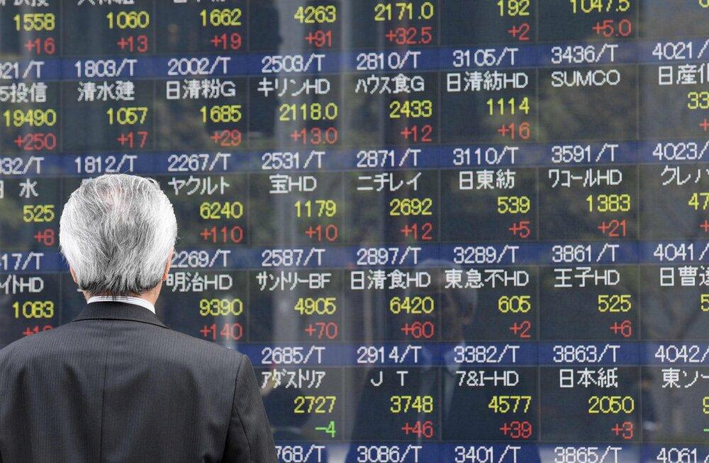 Optimism Prantsusmaa pärast tõstis Aasias aktsiate hindu