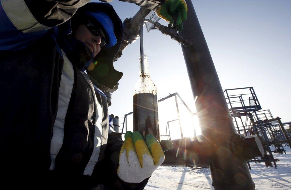 Naftatootmine Venemaal.
