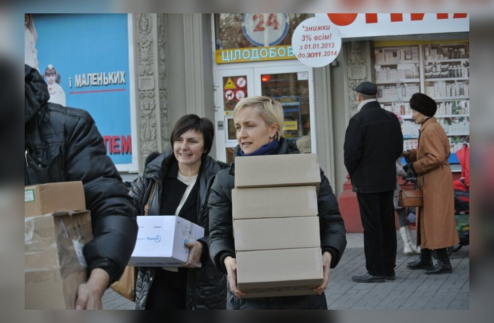 sisepõgenike olukord Ukrainas