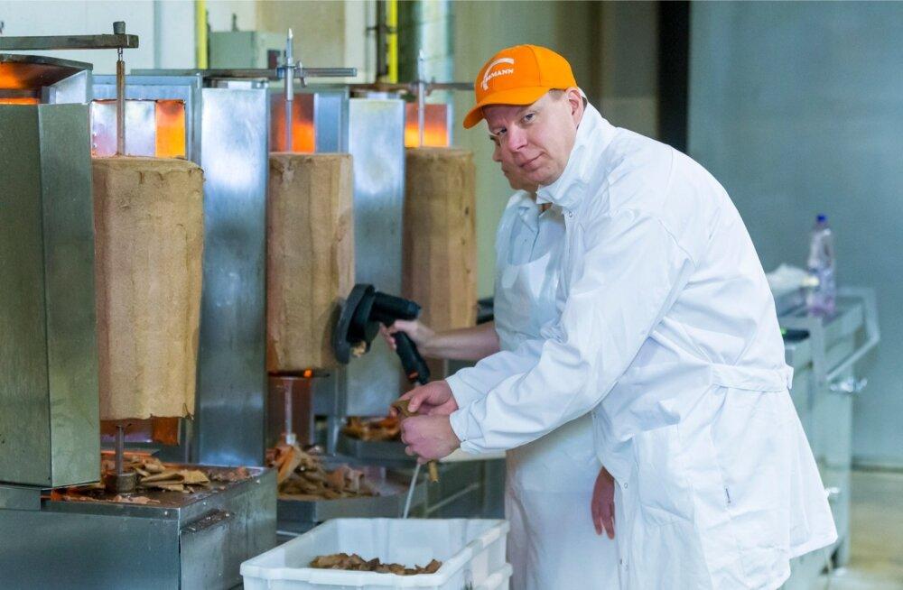 Priit Noorhani sõnul jõuab nende valmistatud kebab sööjateni nii Eesti kui ka Leedu tanklapoodide kaudu.