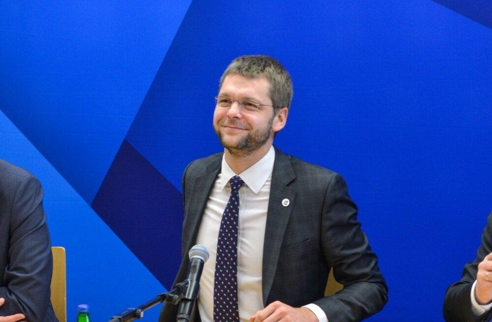 Valitsuse pressikonverents Viljandis