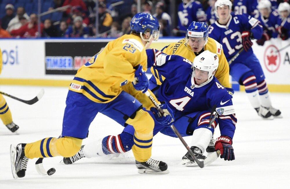 Rootsi (U20) vs USA (U20)
