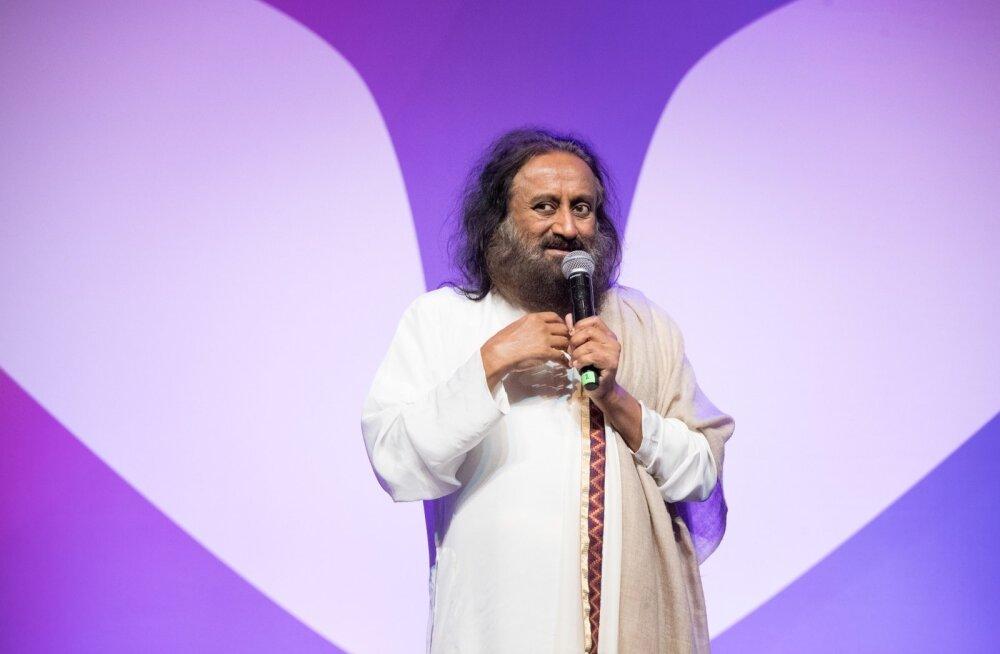 Sri Sri Ravi Shankari loeng Kultuurikatlas