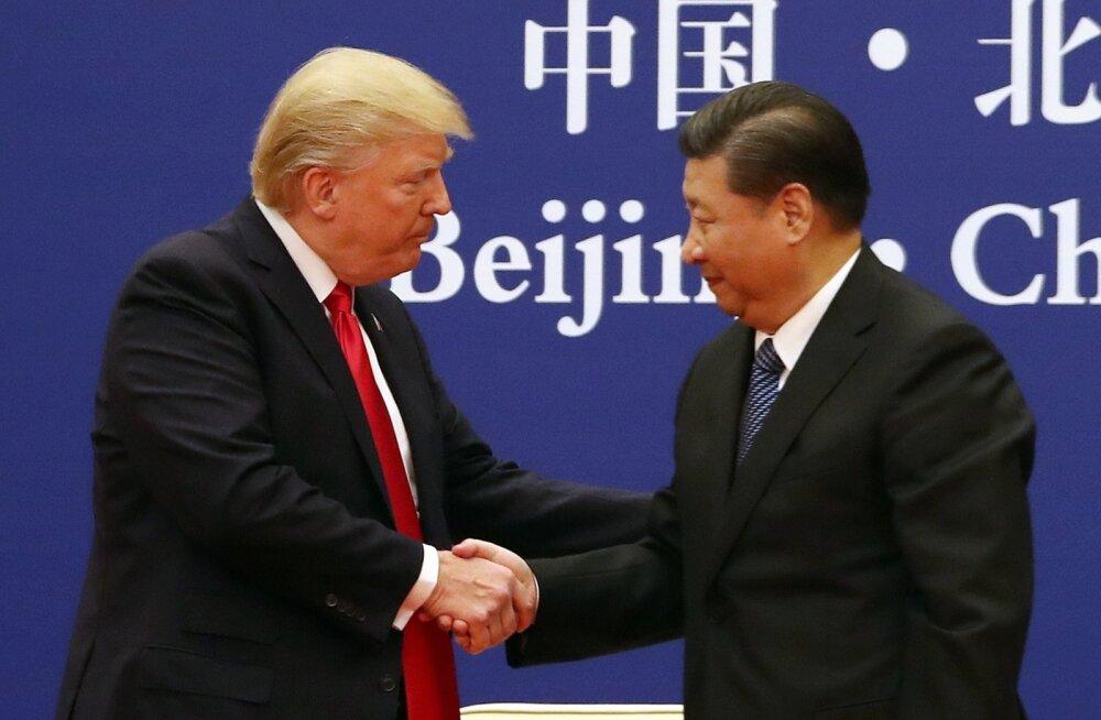 USA ja Hiina alustasid suletud uste taga kaubanduskõnelusi
