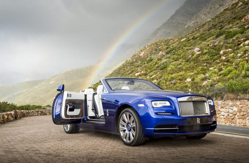 PROOVISÕIT: Rolls-Royce Dawn: peatu, hetk!