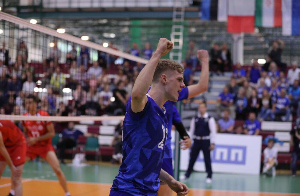 FOTOD | Eesti B-koondis alustas Tallinna turniiri väga kindla võiduga, noortest iraanlastest vastast ei olnud