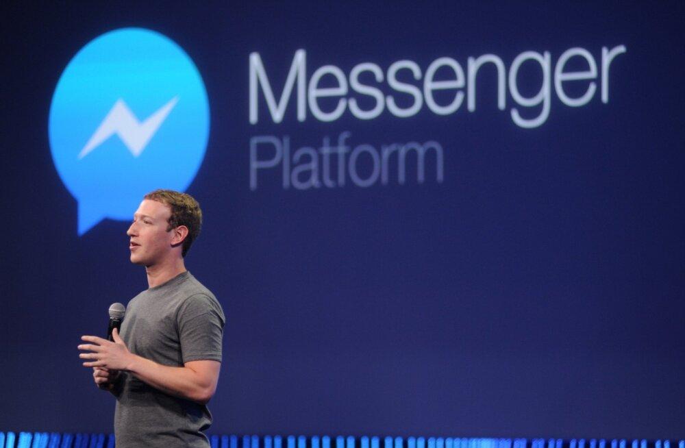 Jutul lõpp: Facebook Messengeri suhtlusprogramm ei töötanud täna paljudel kasutajatel
