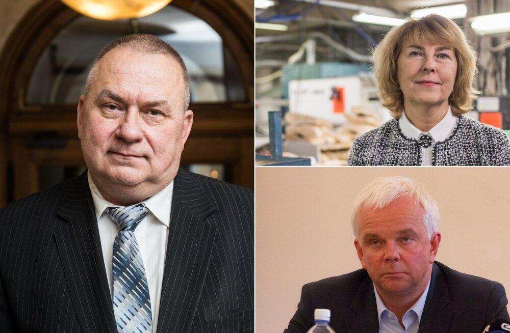 Aivar Riisalu, Leida Kikka ja Jüri Käo