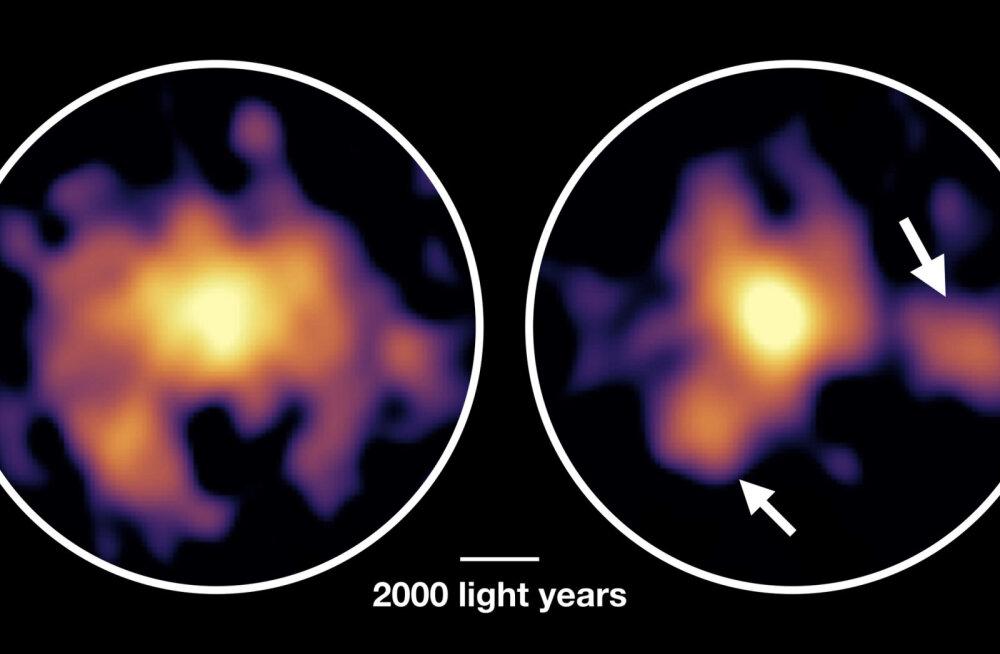 """Ürgne """"koletis-galaktika"""" toodab tähti tuhat korda kiiremini kui Linnutee"""