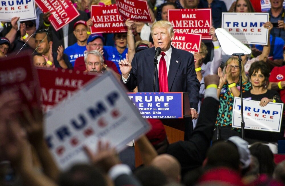 Meeskonnavahetus ja palju vähem suupruukimist annab Trumpile dividende