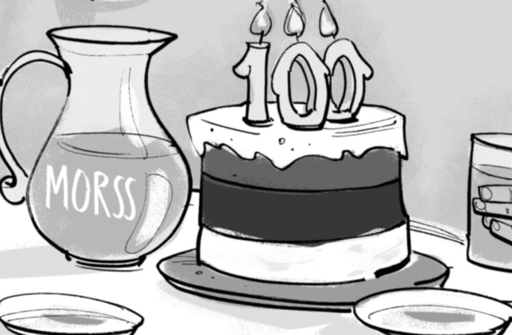 Karikatuur: saadame Eesti morsiga uude sajandisse