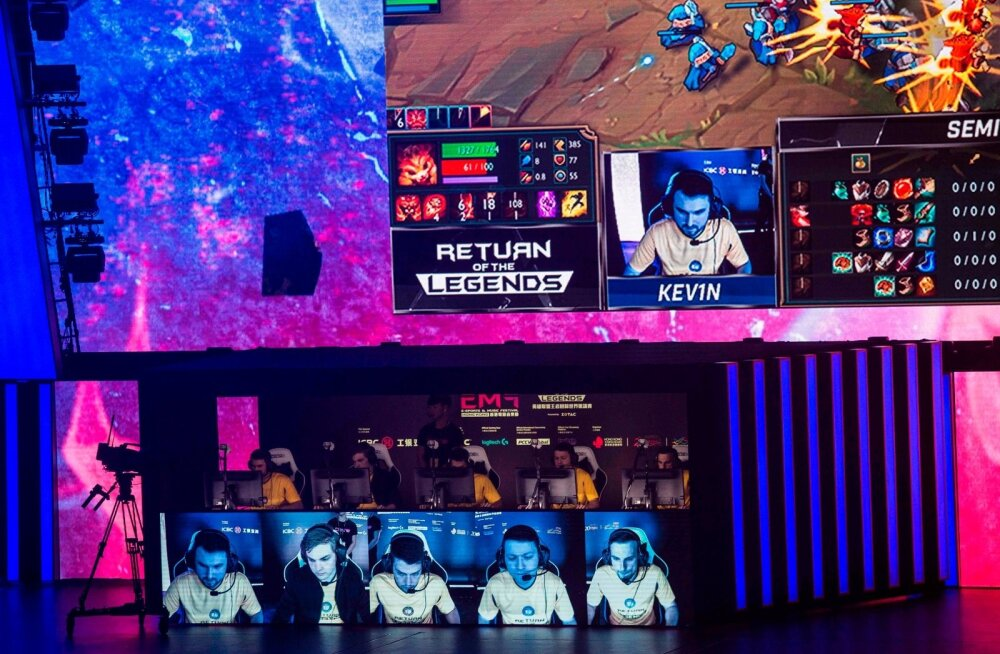 HONG KONG-TECHNOLOGY-ESPORTS