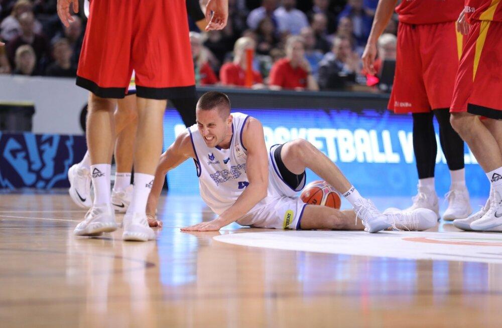 Eesti korvpallikoondis sai Saksamaa käest halastamatult peksa