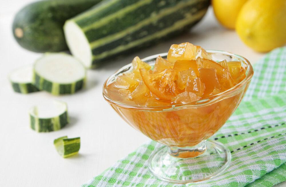 RETSEPT: Tervis purgis ehk vaata, kuidas teha suvikõrvitsa-ingverimoosi