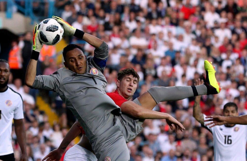 Costa Rica loodab, et Keylor Navas aitab taas meeskonda tassida.