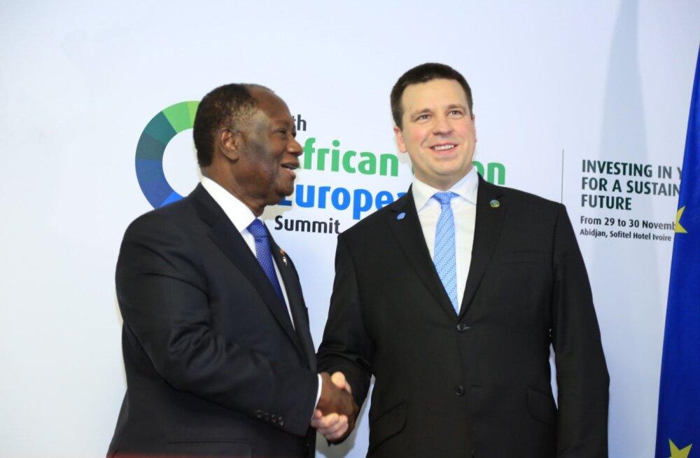 Эстония заключила соглашения о сотрудничестве в развитии э-государства с Африканским союзом и Республикой Маврикий