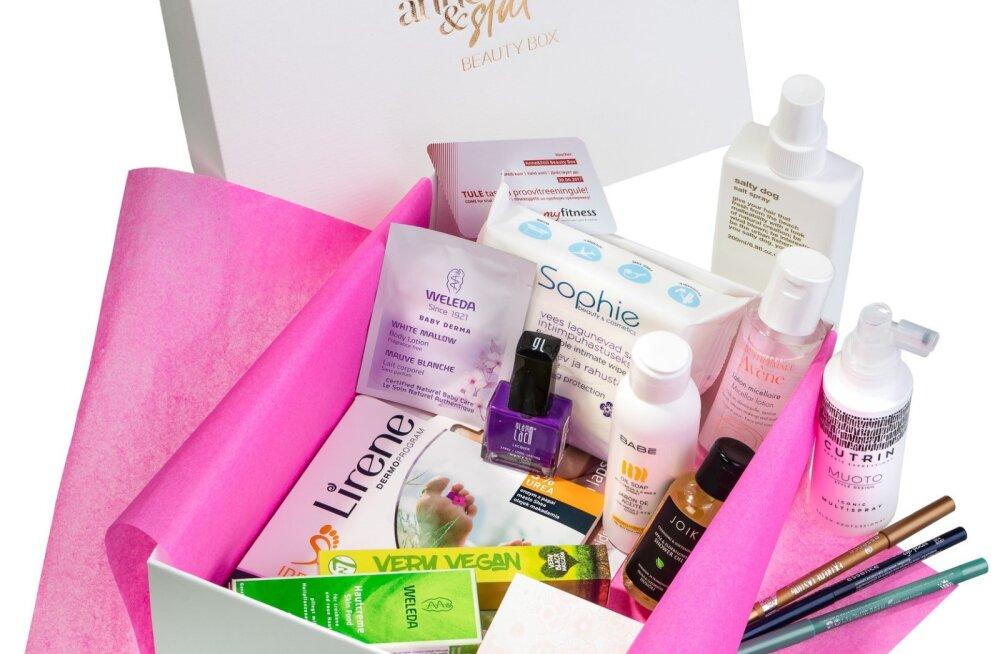 Uus kevadine Anne & Stiili <em>beauty box</em> – väärt ilusoovitused ja sobiv emadepäevakingitus