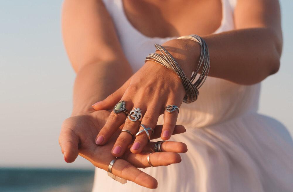 Missuguses sõrmes peab sõrmuseid kandma?