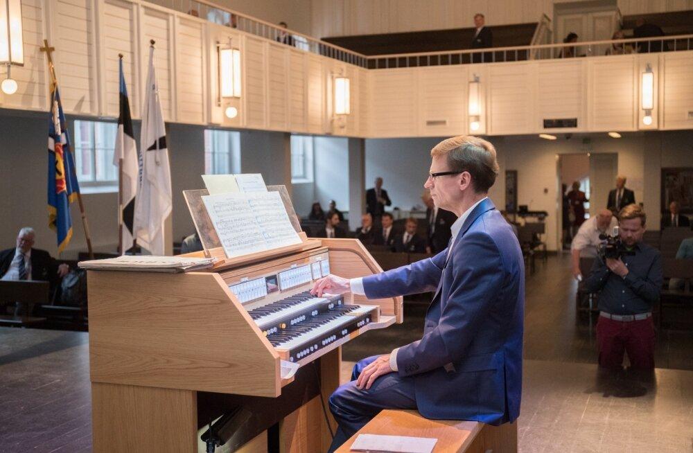 Aivar Sõerd Peterburi Jaani kirikus