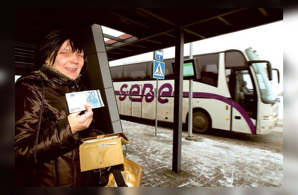 ETTEPANEK: Bussiga peaks saama kogu Eestis ilma rahata sõita!