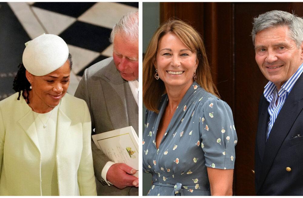 Draama! Miks pole Middletonid kunagi saanud kutset kuninganna jõulupeole, kuid Meghani ema on oodatud?