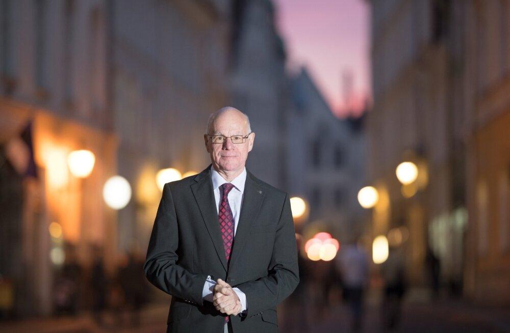 Endine Bundestagi esimees Norbert Lammert käis hiljuti Eestis oma pikaaegse sõbra Arvo Pärdi pidulikul üritusel.