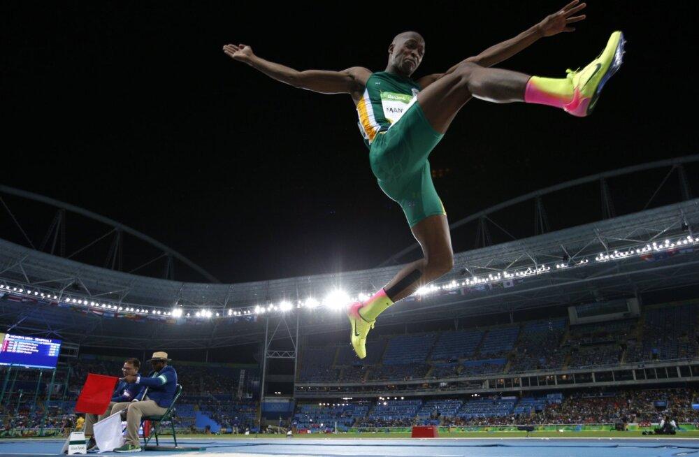 VIDEO: Kaugushüppes sündis kümnendi parim tulemus ja Aafrika rekord